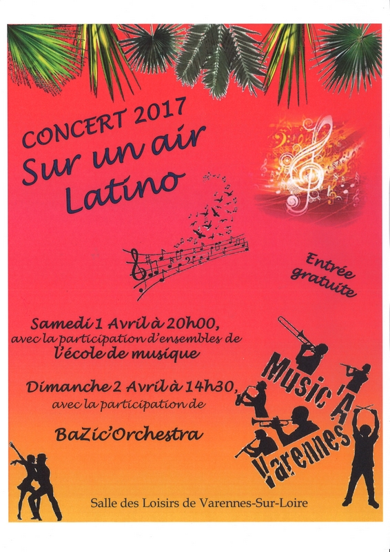 01 & 02/04 : CONCERT - SUR UN AIR LATINO
