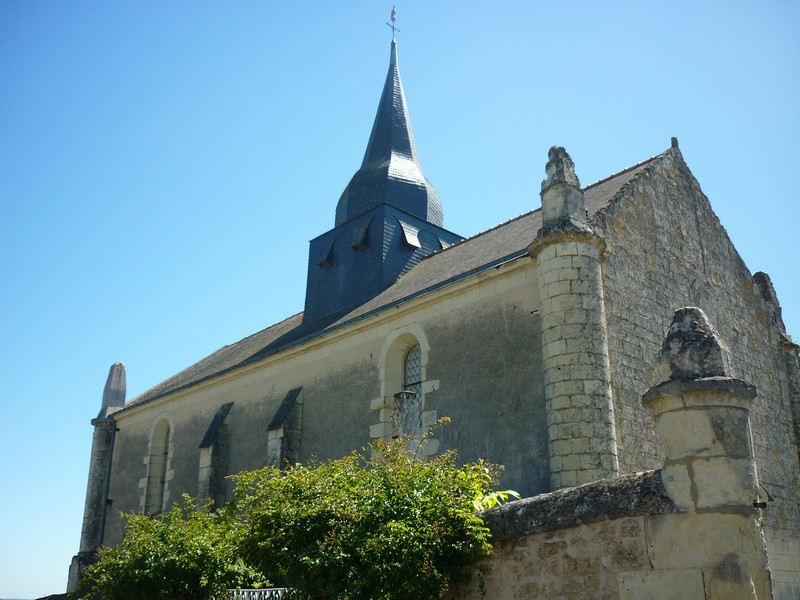 Église de Montfort et son clocher-bulbe