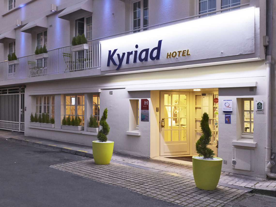 Hotel kyriad for Hotel adagio londres