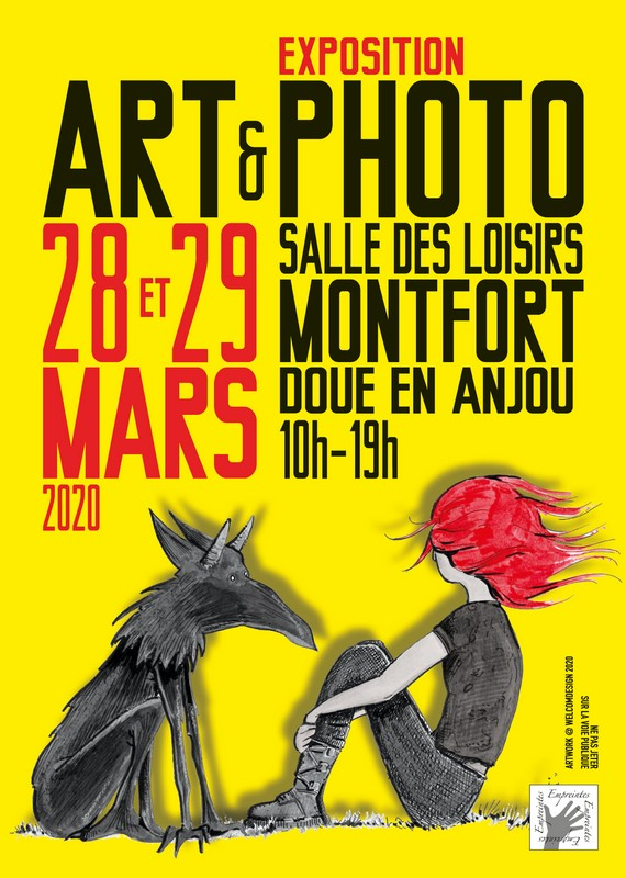 16 & 17/03 : EXPOSITION ART & PHOTO À MONTFORT