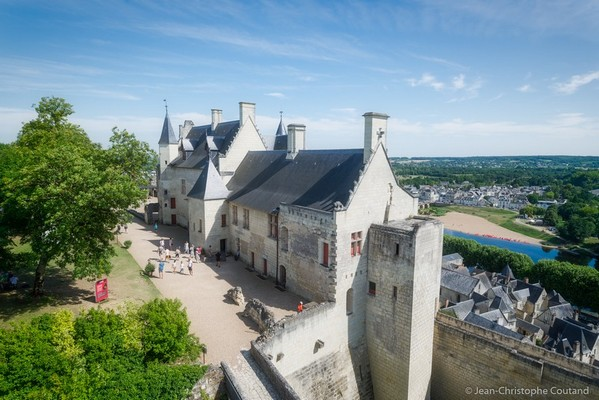 Forteresse royale de chinon ©jean-christophe coutand