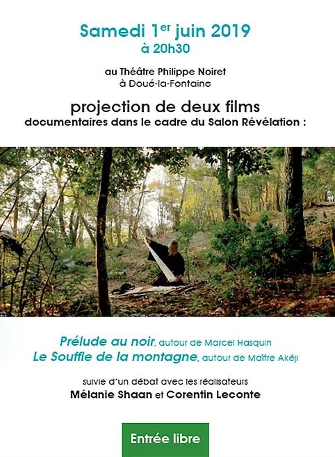 01/06 : PROJECTION DE DEUX FILMS DOCUMENTAIRES À DOUÉ-LA-FONTAINE