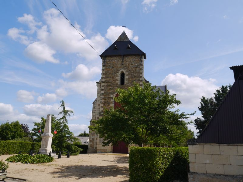 L'église de Saint-Just-sur-Dive
