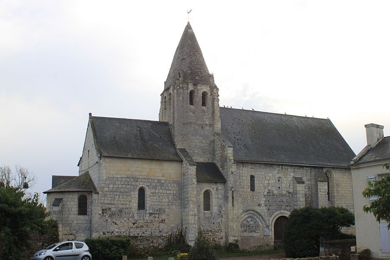 Eglise Saint-André de Verrie - Source : Wikimedia Commons