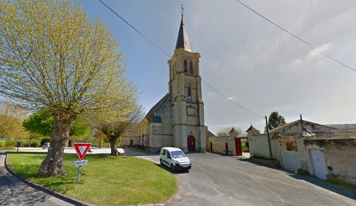 Eglise de Varrains ©Google