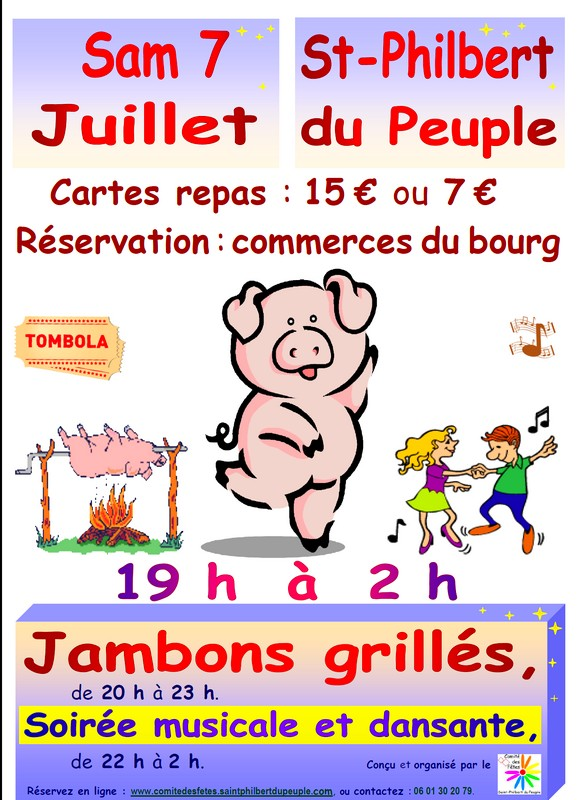 07/07 : SAINT-PHIL EN FÊTE À SAINT-PHILBERT-DU-PEUPLE