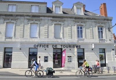 Office de Tourisme à Saumur, en bords de Loire