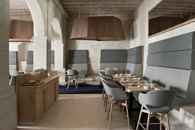 Restaurant gastronomique fontevraud le restaurant for Design hotel des francs garcons